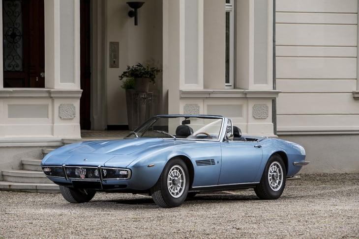 Maserati Ghibli Spyder : voiture historique de 50 ans