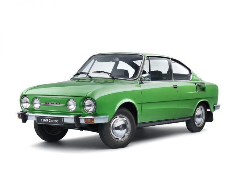 Skoda 110 R Coupé : Un demi-siècle de vie pour la petite voiture de sport