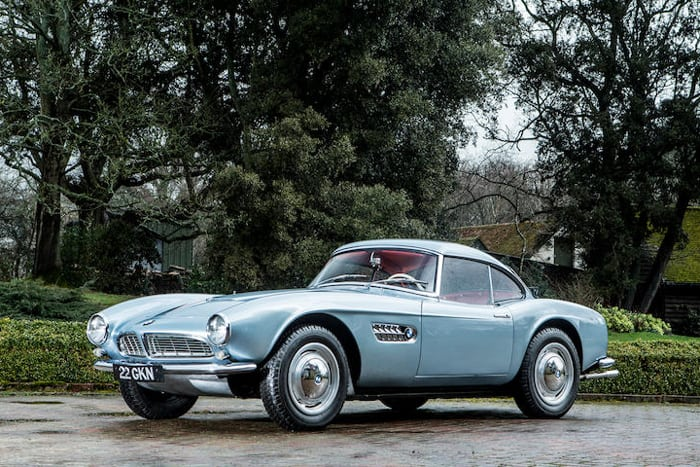 BMW 507 Roadster: voiture youngtimer VIP